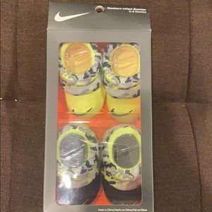 New in box Nike Infant Booties